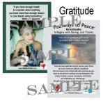 Inspiration Card #12 Gratitude — Giving & Thanks ®