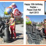 "Kaylee D celebrated her 10th birthday with a party in ""Uncle Mattie's Park"""