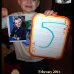 Mattie G. celebrated his 5th birthday with a Mattie Stepanek Peace Party!