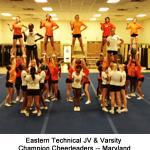 5 Eastern Technical Cheerleaders -- Maryland b_