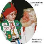 Rockville Maryland -- Jim Hawkins Mattie Santa