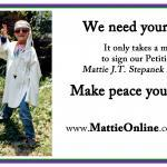 Mattie J.T. Stepanek at age 8. Mattie realized at a very young age that he could not always choose what happened to him or around him, but he could choose how he responded to any reality -- and he chose an attitude of hope and peace.