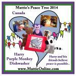 Canada Harry Purple Monkey Dishwasher